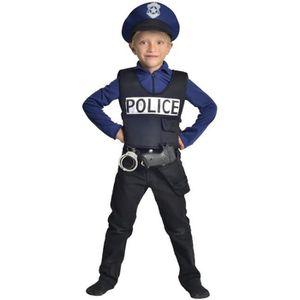 DÉGUISEMENT - PANOPLIE CESAR - F586 - Déguisement policier - 5 / 7 ans