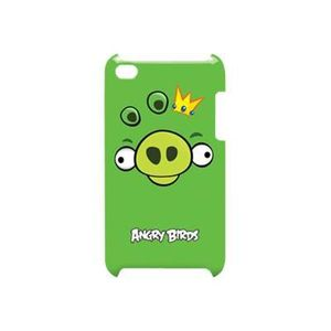 COQUE MP3-MP4 Gear4 Angry birds iPod green