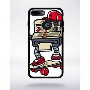 COQUE - BUMPER Coque polaroid compatible apple iphone 7 plus bord