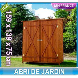 ABRI JARDIN - CHALET Meuble armoire abri de jardin rangement outils ext