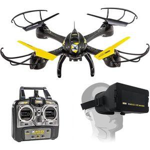DRONE MONDO Ultra Drone  Radiocommandé X40.0 VR MASK + C