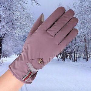 GANTS - MOUFLES DE SKI Femmes imperméable à l'eau gants coupe-vent hiver