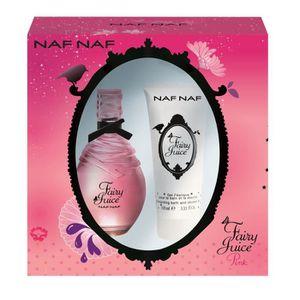 EAU DE TOILETTE NAF NAF Eau de toilette et shampoing Juice Pink -