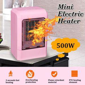 RADIATEUR D'APPOINT NEUFU 220V 500W Portable Mini Radiateur Électrique