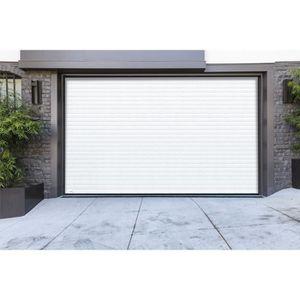 PORTE DE GARAGE Porte de garage à enroulement - RAL 9016 - 2500 x