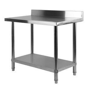 Table De Travail En Inox 180x70cm Plan De Travail En Inox