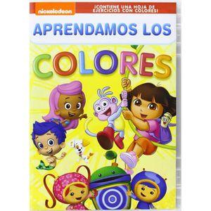 DVD FILM APRENDAMOS LOS COLORES (Importé d'Espagne, langues