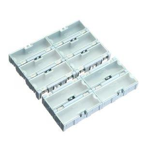 BAC DE RANGEMENT OUTILS TEMPSA SET 10pcs SMT SMD Kit Laboratoire Puce Comp