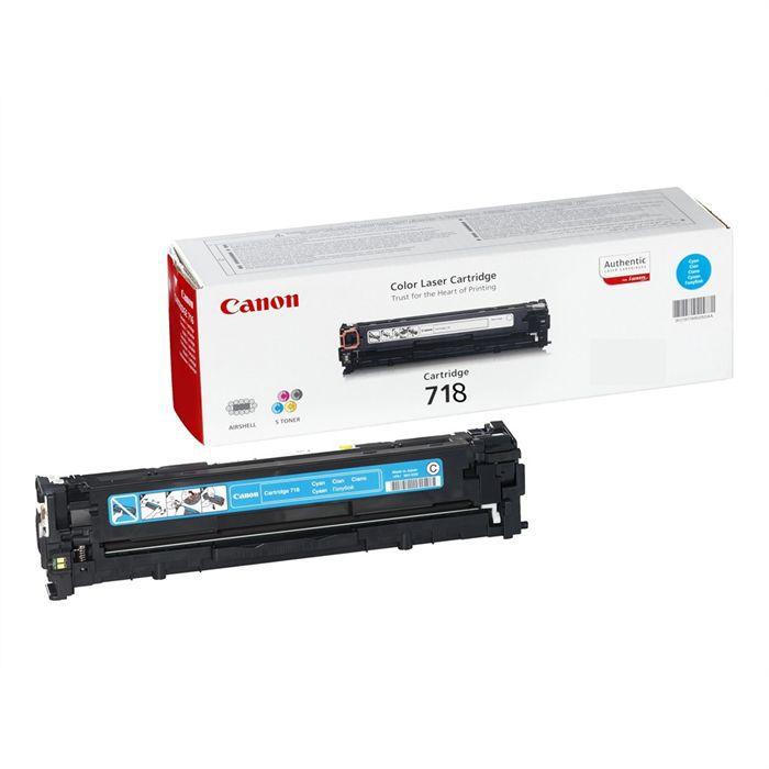 Canon 718C Cartouche toner pour Imprimante Laser - Cyan