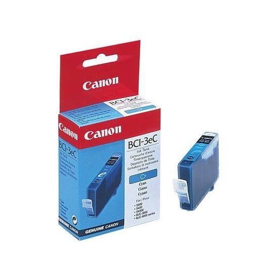 CANON Pack de 1 cartouche d'encre  - BCI-3EC   - Cyan - capacité standard 13 ml - 300 pages
