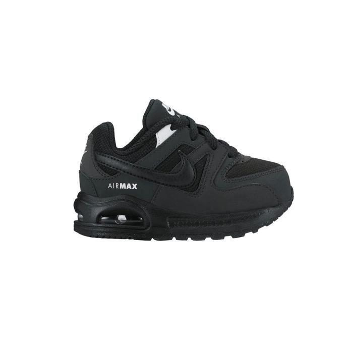 Nike Air Max Command Flex (TD), Chaussures de Gymnastique Mixte Enfant, Noir (Black/White/White 011), 27 EU