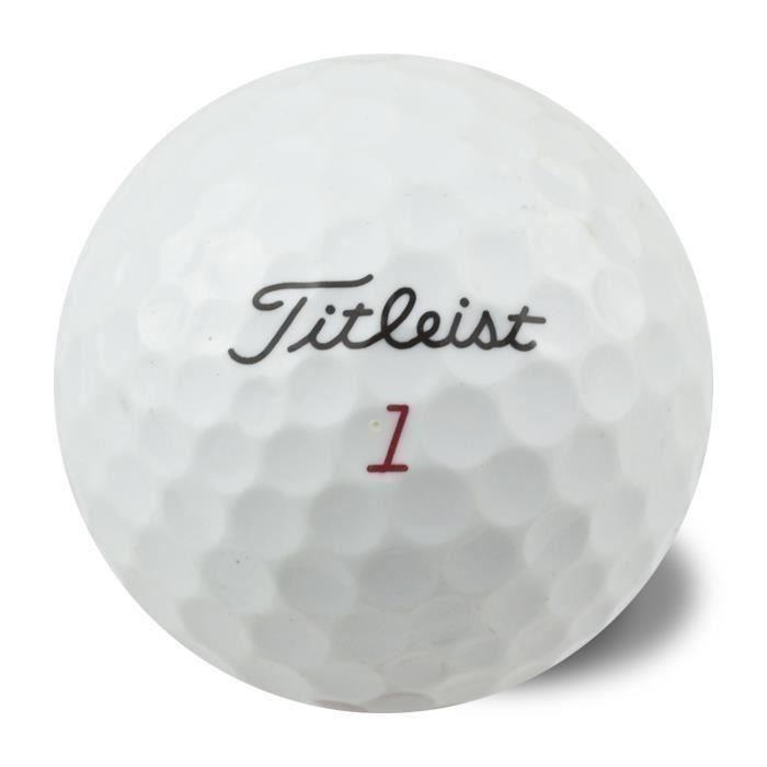 TITLEIST Lot de 50 Balles de Golf Reconditionnées Titleist