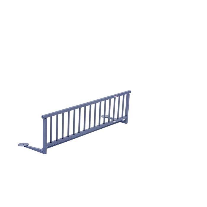COMBELLE Barrière de lit enfant - Bleu laqué