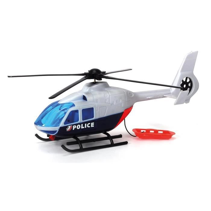 DICKIE SOS Hélicoptère de Police 24 cm
