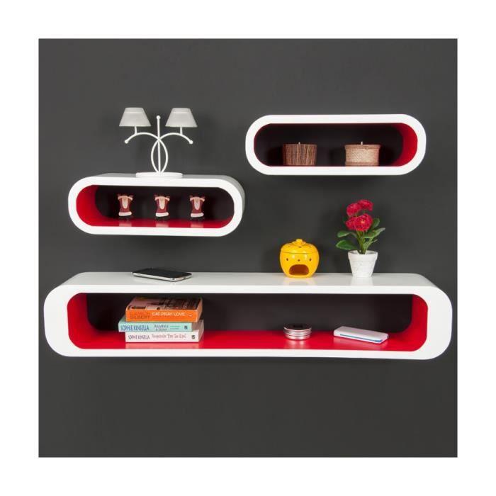 etagere cube blanc brillant achat vente pas cher. Black Bedroom Furniture Sets. Home Design Ideas