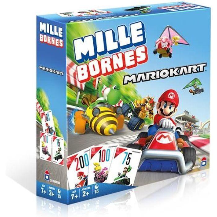 JEU SOCIÉTÉ - PLATEAU MILLE BORNES Mario Kart