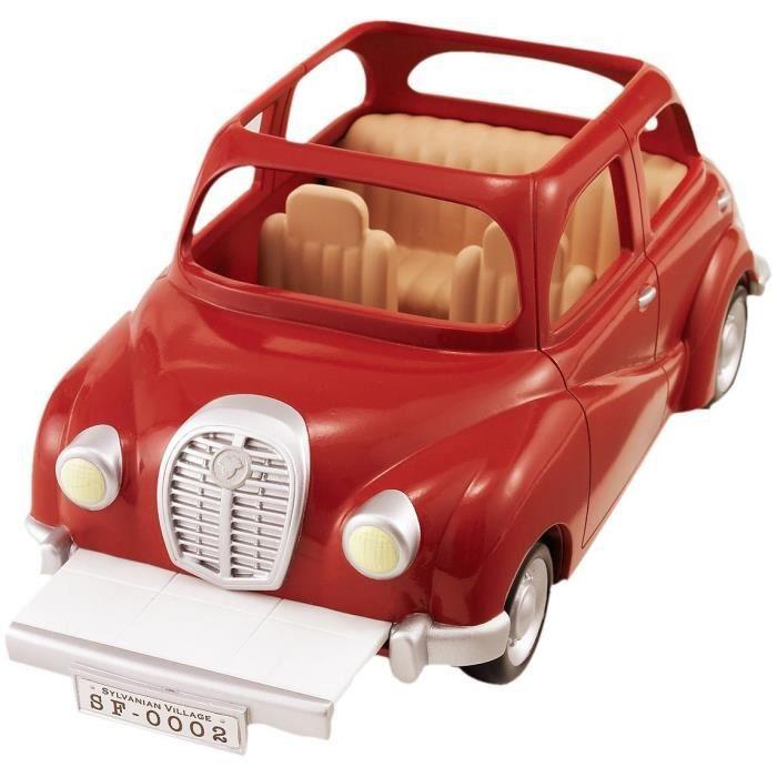 sylvanian families 2002 voiture rouge achat vente accessoire de figurine cdiscount. Black Bedroom Furniture Sets. Home Design Ideas