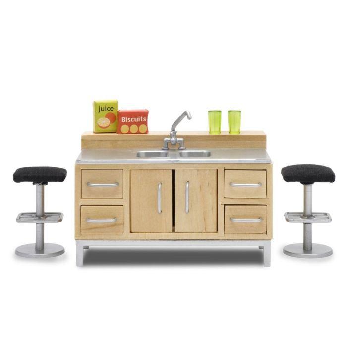 lundby ensemble bar pour maison de poup es achat vente maison poup e cdiscount. Black Bedroom Furniture Sets. Home Design Ideas