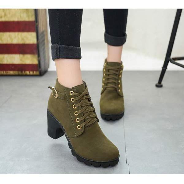 Martin bottes chaussures de broussailles épaiss...