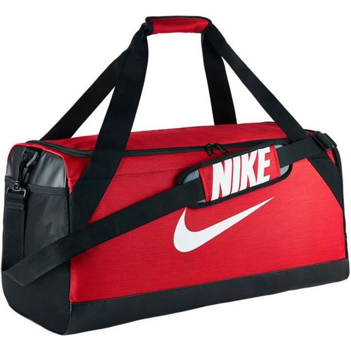940fe06c5a Sac de sport Nike Brasilia Medium Duffel rouge - Prix pas cher ...