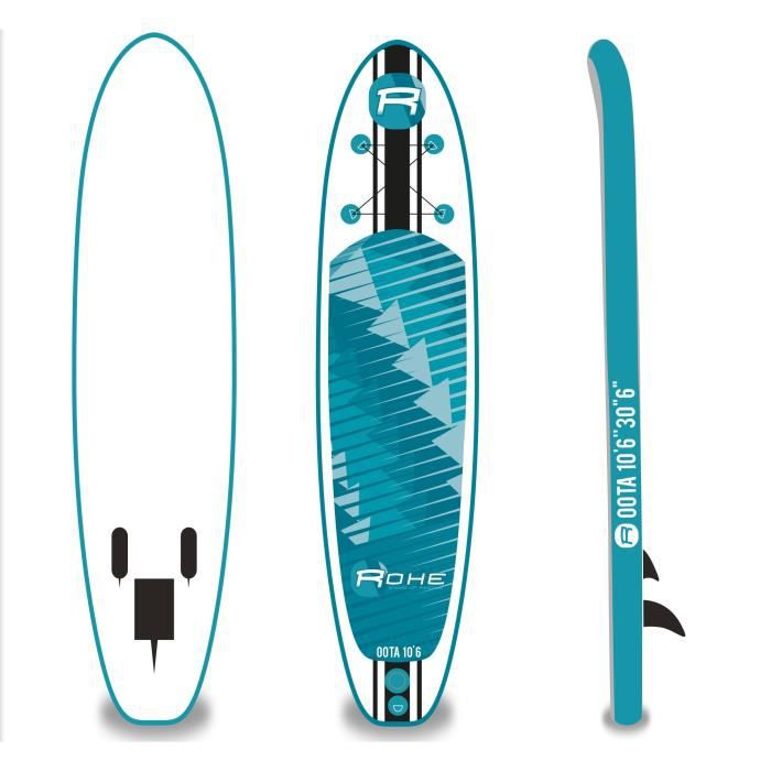 rohe stand up paddle gonflable oota 10 6 x 30 x 6 sans. Black Bedroom Furniture Sets. Home Design Ideas