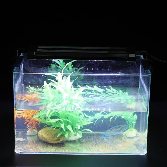 De Poissons 36leds D'aquarium Réservoir Lumières 30cm Eu Sous Led marin Prise Lampe D'éclairage Plongée wzIqw6