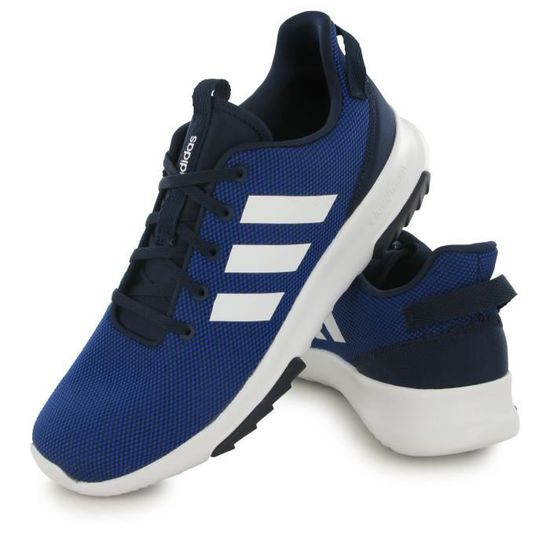 low priced 90e86 4f881 Adidas Neo Cloudfoam Racer Tr bleu, baskets mode homme Bleu Bleu - Achat   Vente basket - Cdiscount