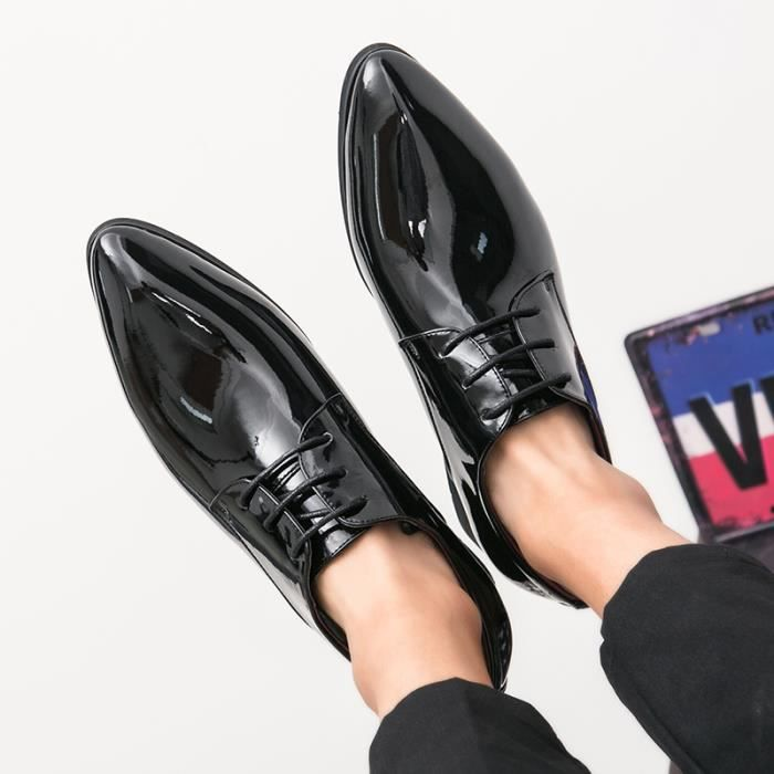 Derby Cuir anti-dérapage hommes chaussures