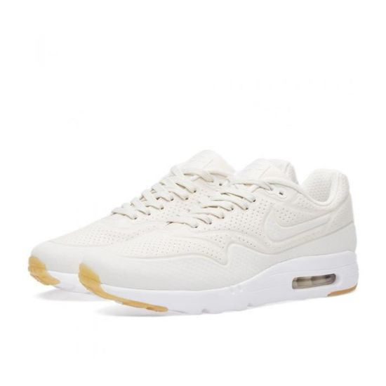 finest selection 54d76 7f065 Baskets Nike Air Max 1 Ultra Moire Creme 3M Beige - Achat  Vente basket -  Cdiscount