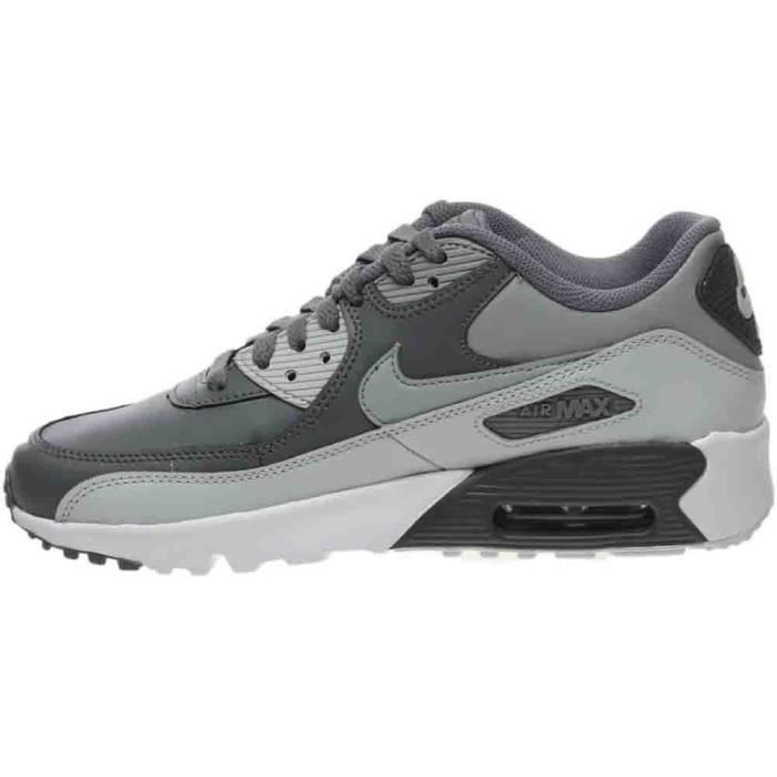 Nike Big Kids Air Max 90 Leather Running Shoes GE5ZZ Taille-36 1-2 GFVkZ1Pa