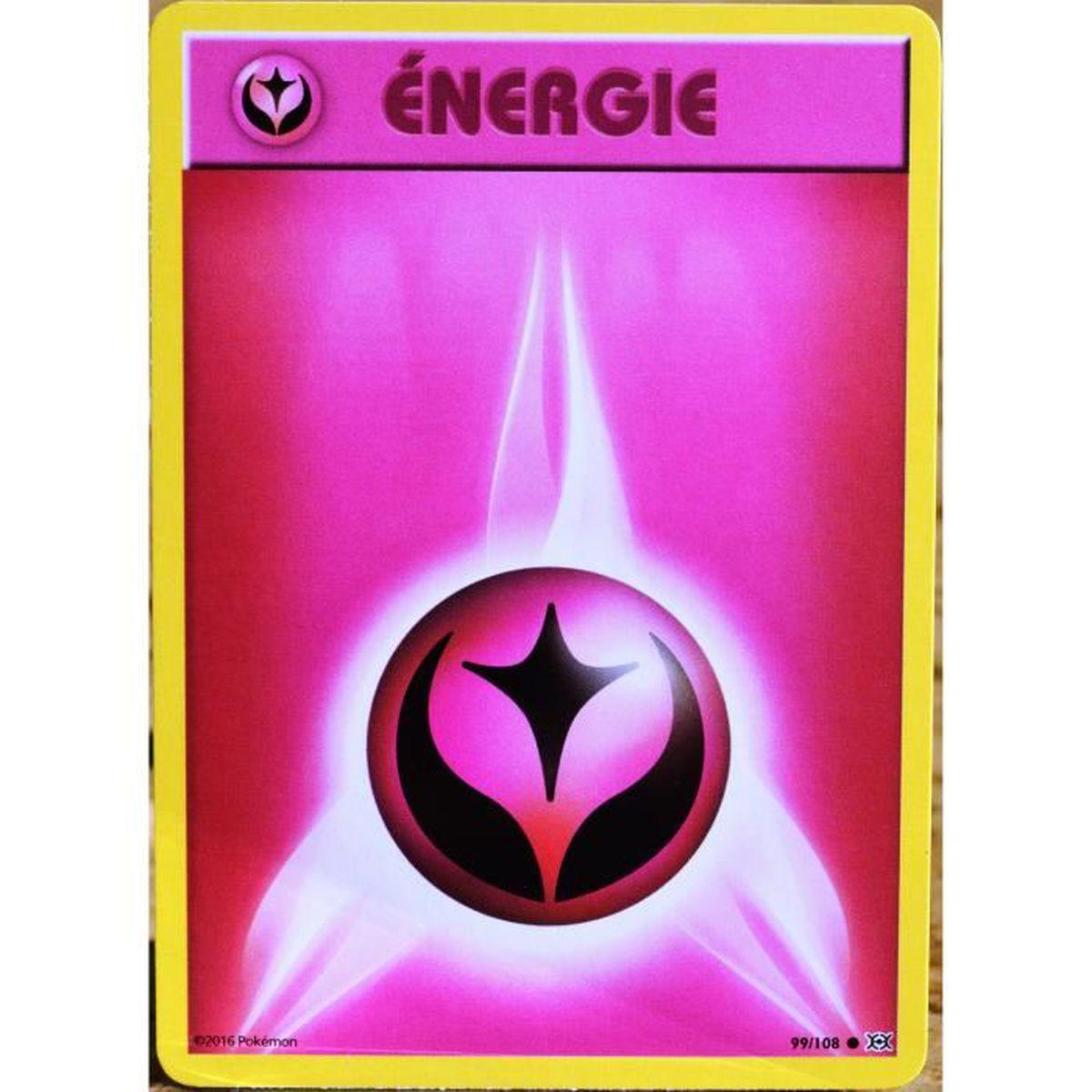 Carte pok mon 99 108 energie f e xy evolutions achat vente carte a collectionner cdiscount - Carte pokemon fee ...