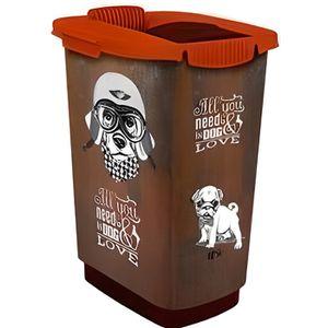 DISTRIBUTEUR D'ALIMENT ROTHO Container à croquettes verseur Cody 25 L - P
