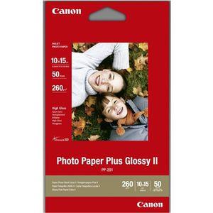 PAPIER PHOTO Canon PP-201 50 feuilles 10x15 260g