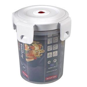 CURVER Boîte Aroma Fresh Premium ronde 0,5L ? valve