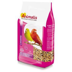 GRAINES Animalis - Mélange de Graines pour Canaris - 1Kg