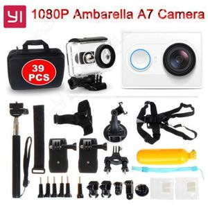CAMÉSCOPE NUMÉRIQUE Blanc Xiaomi Yi Helmet Action Wifi Caméra DVR 16MP