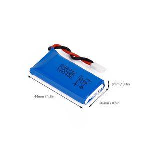 DRONE Nouveau 3.7V 500mAh Li-Po Batterie pour Hubsan X4