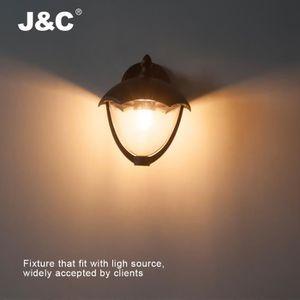 ABAT-JOUR J&C® Abat-jour Étanche Applique Lanterne Cage de L