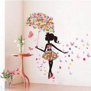 stickers muraux chambre fille achat vente stickers muraux chambre fille pas cher cdiscount. Black Bedroom Furniture Sets. Home Design Ideas