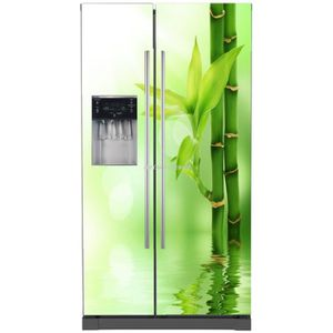 STICKERS Sticker frigo américain électroménager déco Bam...