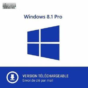 BUREAUTIQUE À TÉLÉCHARGER Windows 8.1 Professionnel - 32/64 bits - A Télécha