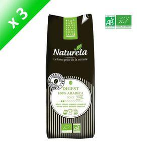 CAFÉ NATURELA Café moulu Digest - 100% arabica - Bio -