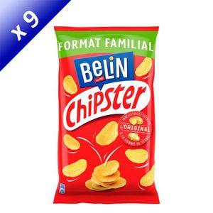 BISCUITS APÉRITIF Belin Chipster Format Éco 150g - LOT DE 9