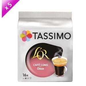 CAFÉ Tassimo L'Or Café long Doux café en dosettes - lot