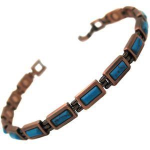 BRACELET - GOURMETTE Bracelet homme femme magnetique acier 14 Aimant 30