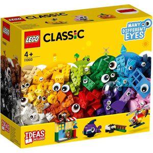 ASSEMBLAGE CONSTRUCTION LEGO® 4+ Classic 11003 La boîte de briques et d'ye