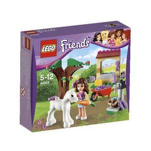 ASSEMBLAGE CONSTRUCTION Olivia et son bébé poulain  LEGO® FRIENDS® 41003