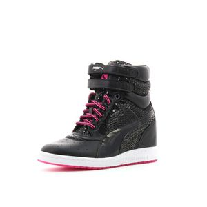 Noir Achat Basket Mode Wedge A… Vente Sky Puma Chaussures jc5LS43ARq