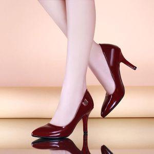 talons hauts-Pure Color Stiletto bout pointu Pompes pour femme czlDWUWY