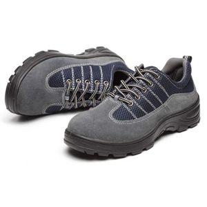 CHAUSSURES DE SECURITÉ GEMVIE Chaussures de Sécurité Homme Safety Shoes O